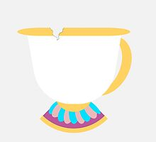 Chip the Tea Cup by memorytree