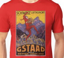 Vintage poster - Gstaad Unisex T-Shirt
