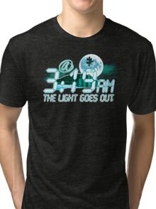 @3:19am The Light Goes Out - BC1 Tri-blend T-Shirt