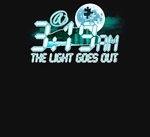 @3:19am The Light Goes Out - BC1 Womens Fitted T-Shirt