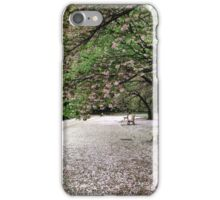 Sakura carpet iPhone Case/Skin