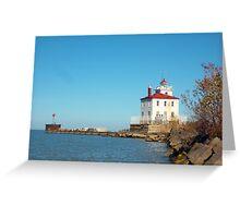 Lake Erie Headlands Greeting Card