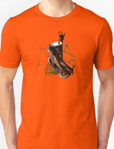 Captain Squid At Sea T-Shirt