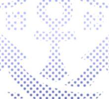 Splatoon Inspired: Blue Ranked Battle Icon Sticker