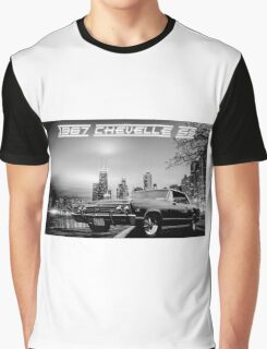 '67 Chevelle SS - City Lights Graphic T-Shirt