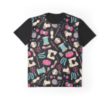 Crafty Motifs Graphic T-Shirt