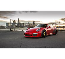 2014 Porsche 911 GT3 Photographic Print