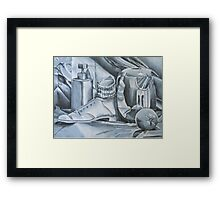 A Day Reflected Framed Print