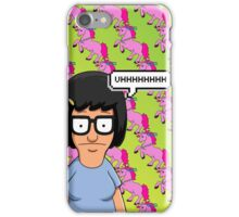 Tina Belcher Unicorn Pattern  iPhone Case/Skin