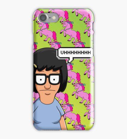 Tina Belcher Unicorn Pattern  iPhone Case/Skin