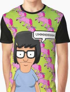 Tina Belcher Unicorn Pattern  Graphic T-Shirt