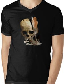 Death And The Mermaid  Mens V-Neck T-Shirt