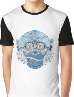 Funky Monkey Graphic T-Shirt
