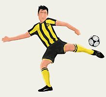 Football Dortmund - V01 by Lidra