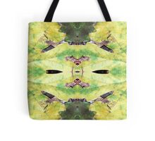 666-YellowGreenLeaf2 Tote Bag
