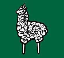 Llama scribbler Unisex T-Shirt