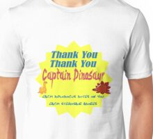 Captain Dinosaur Unisex T-Shirt