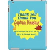 Captain Dinosaur iPad Case/Skin