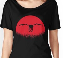 Ryuk Shinigami Red Moon Women's Relaxed Fit T-Shirt