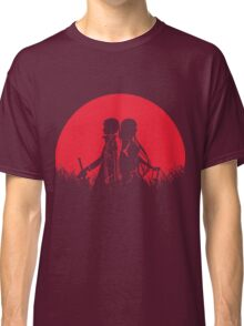 Kirito Asuna Red Moon Classic T-Shirt