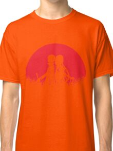 Kirito Asuna Red Moon Classic T-Shirt