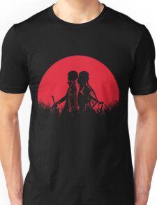 Kirito Asuna Red Moon Unisex T-Shirt