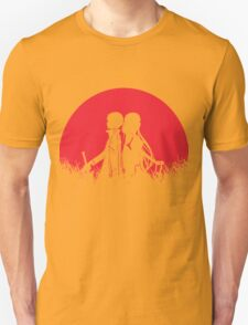 Kirito Asuna Red Moon Unisex T-Shirt