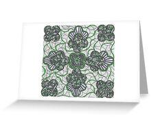 Tie a Green Ribbon Greeting Card