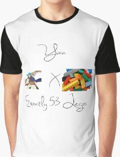 Yuan x Exactly 53 Legos Graphic T-Shirt