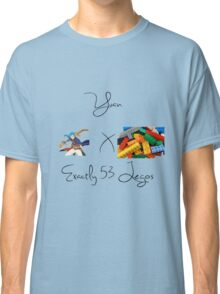 Yuan x Exactly 53 Legos Classic T-Shirt