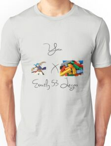 Yuan x Exactly 53 Legos Unisex T-Shirt