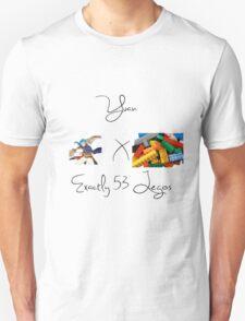 Yuan x Exactly 53 Legos T-Shirt