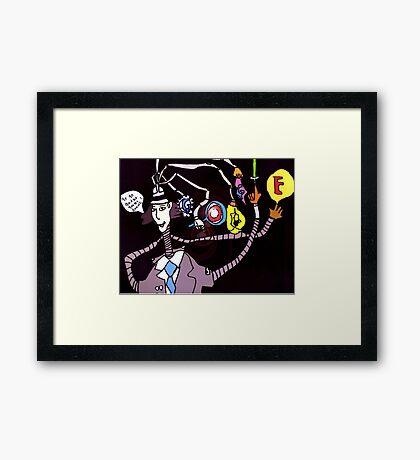 Google Gadget Framed Print