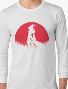 RENAMON RED MOON Long Sleeve T-Shirt