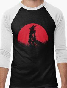 RENAMON RED MOON Men's Baseball ¾ T-Shirt