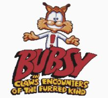 Bubsy (SNES) Title Screen Kids Tee