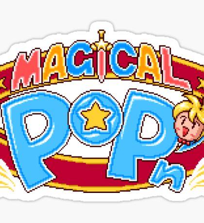 Magical Pop'n (SNES) Title Screen Sticker