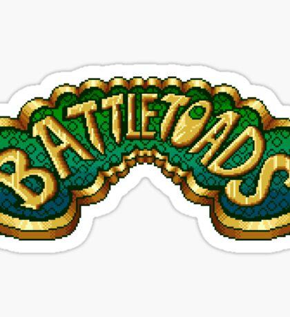 Battletoads (NES) Title Screen Sticker