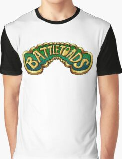 Battletoads (NES) Title Screen Graphic T-Shirt
