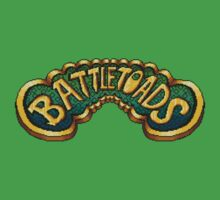 Battletoads (NES) Title Screen One Piece - Short Sleeve