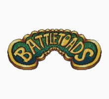 Battletoads (NES) Title Screen Kids Tee
