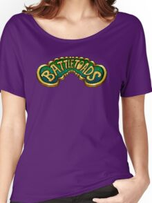 Battletoads (NES) Title Screen Women's Relaxed Fit T-Shirt
