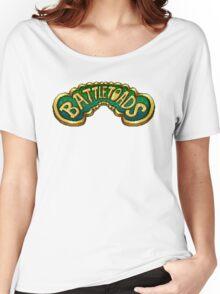 Battletoads (NES) Title Screen Women's Relaxed Fit T-Shirt