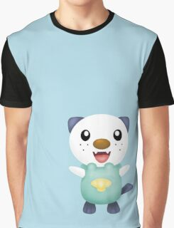 Oshawott - shade + light blue Graphic T-Shirt