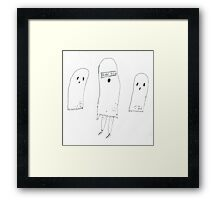Brand New Ghost Framed Print
