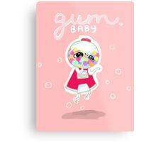 Gum Baby Metal Print