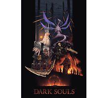 Retro Dark Souls Photographic Print