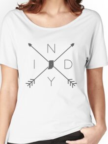 Indiana INDY Crossed Arrows Women's Relaxed Fit T-Shirt