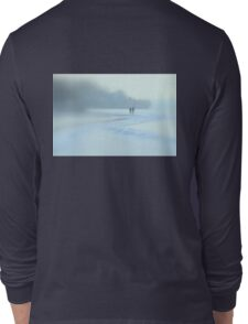 Wintry Afternoon Stroll Long Sleeve T-Shirt
