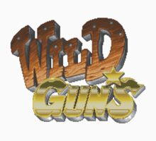 Wild Guns (SNES) Title Screen Kids Tee